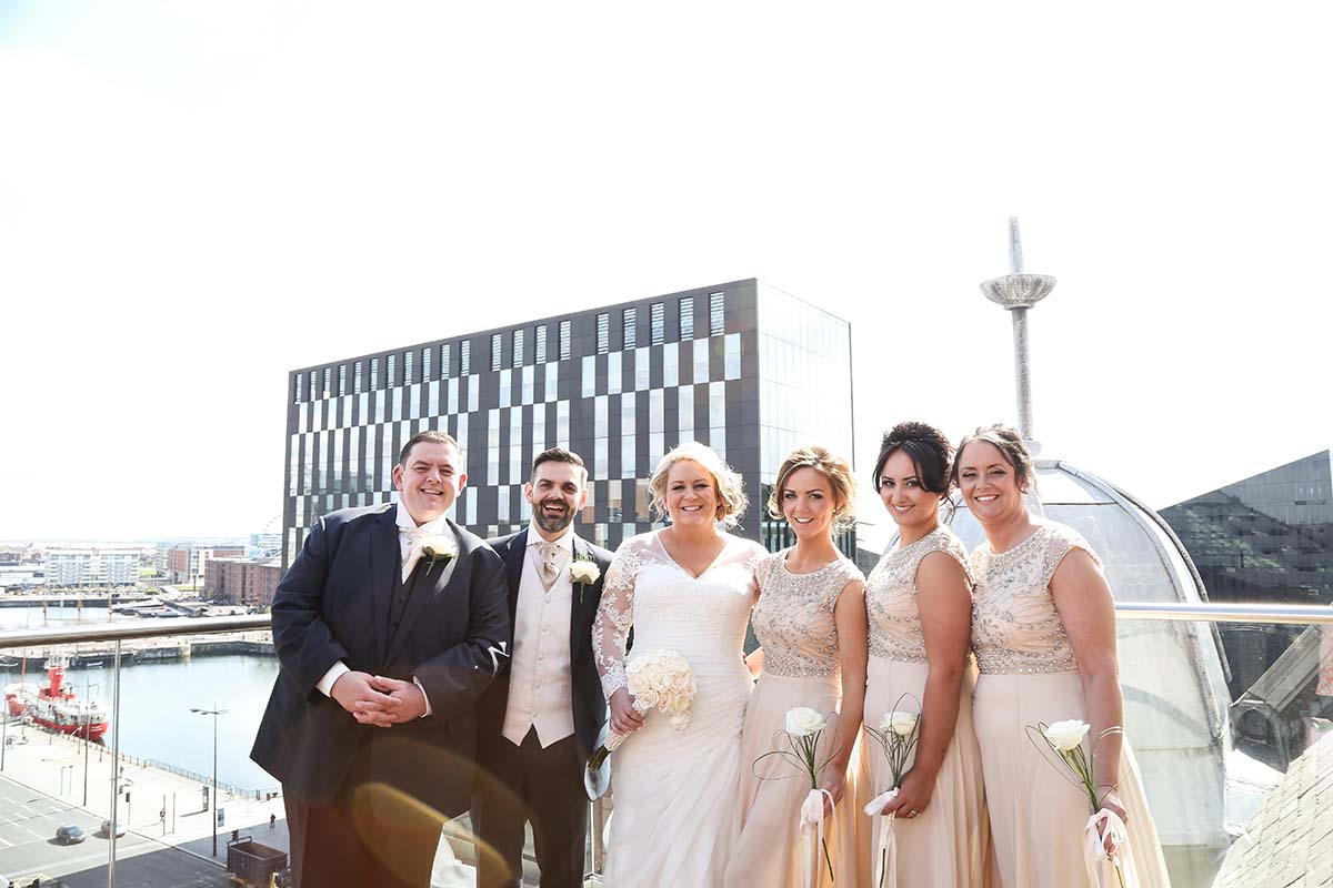 Titanic Hotel Wedding Photographer