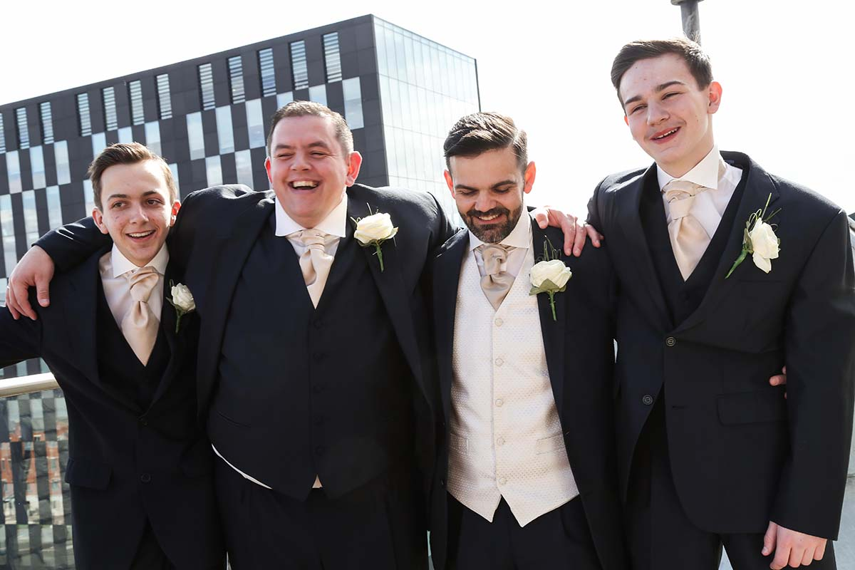 30 James Street Titanic Hotel Liverpool Wedding Photographer