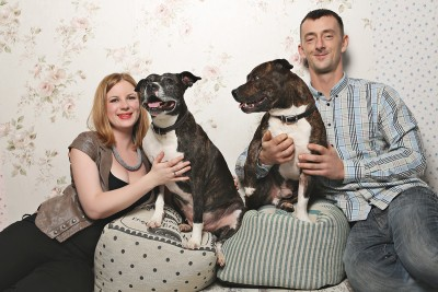 Louise pet family portrait