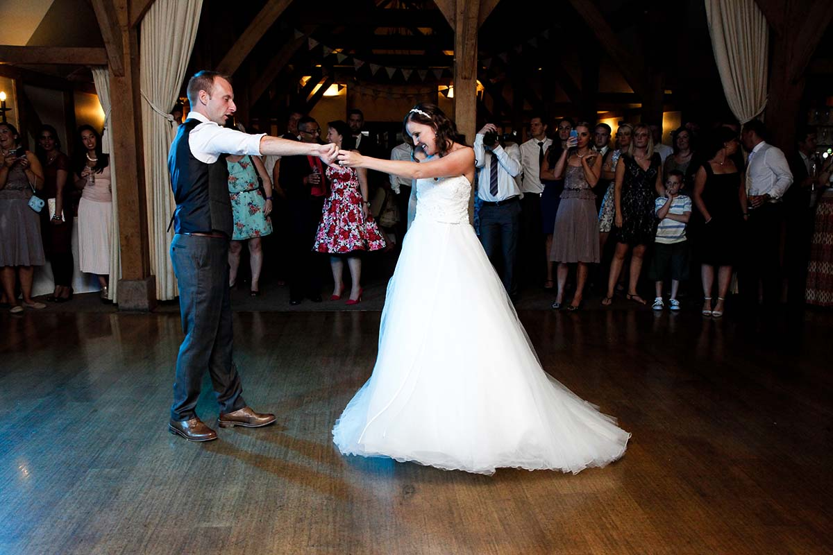 First Dance Sandhole Oak Barn Manchester Wedding Photography