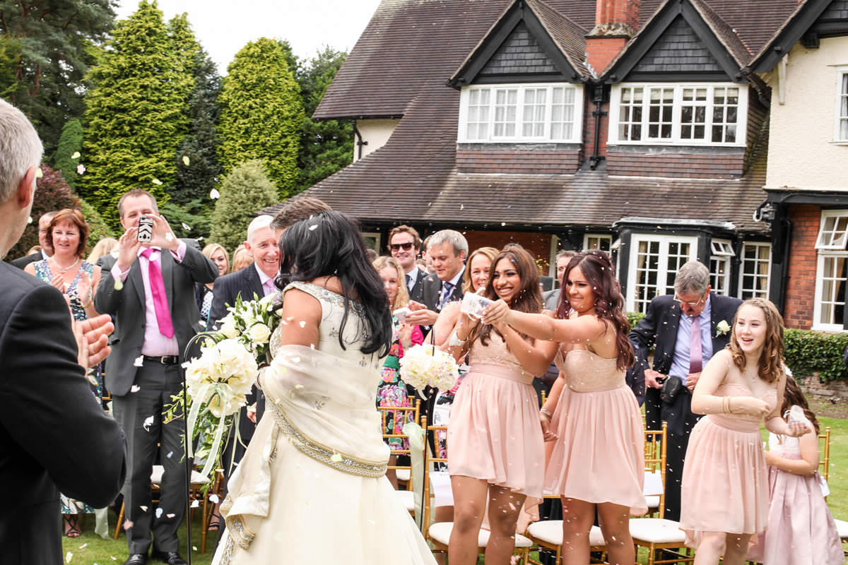 Confetti Wedding Photographer Manchester Mere Court Hotel