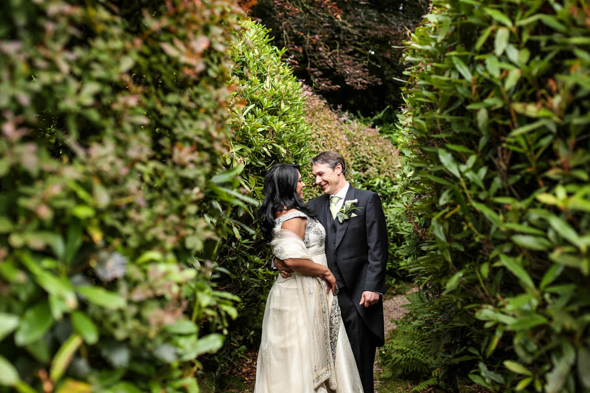 Intimate Moment Mere Court Knutsford Wedding Photographer Manchester