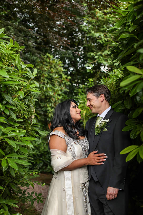 Bride and Groom Mere Court Hotel. Wedding Photographer Manchester.