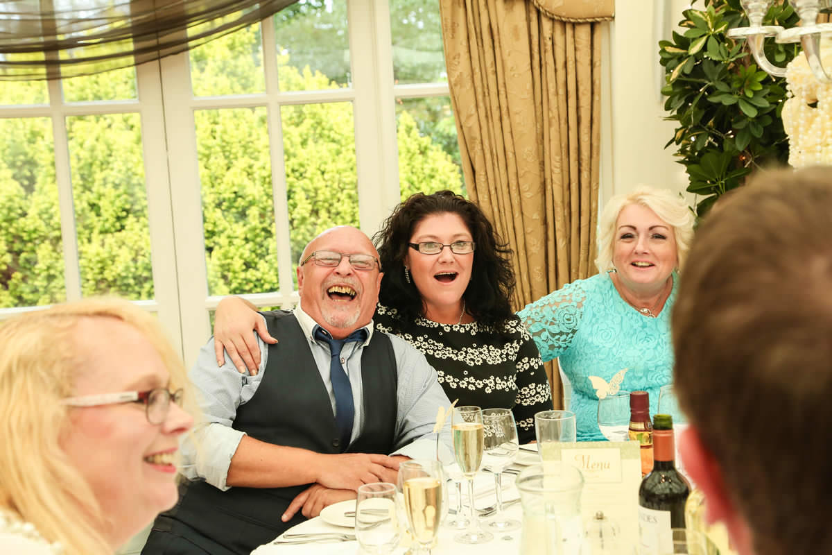 Happy People at Mere Court Hotel, Wedding Photographer Manchester