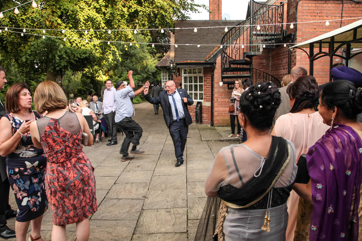 Party Starters at Mere Court Hotel, Wedding Photographer Manchester
