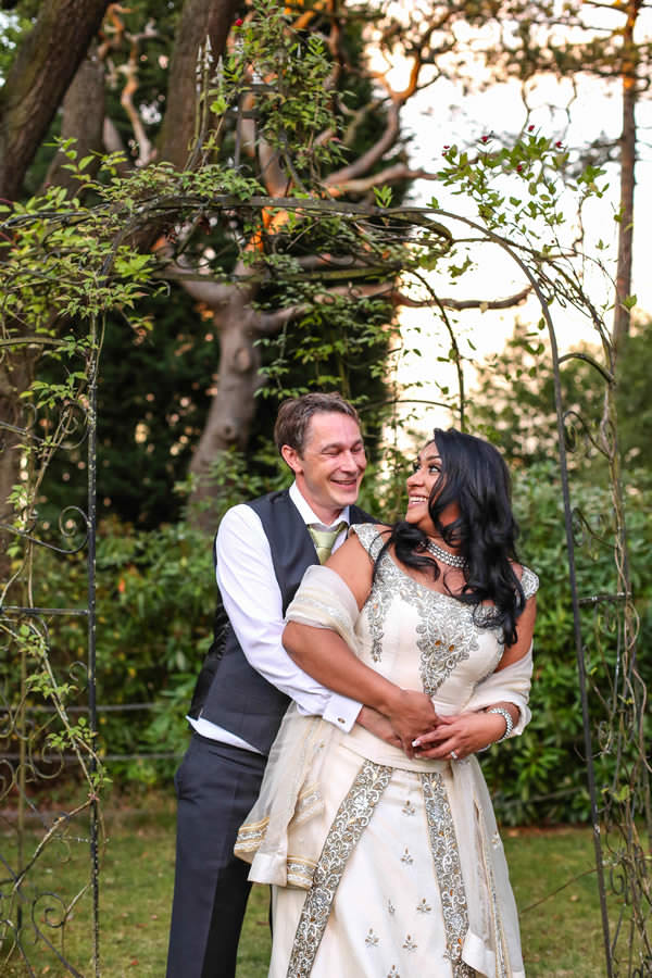 Happy Couple Manchester Winter Wedding at Mere Court Hotel Photography