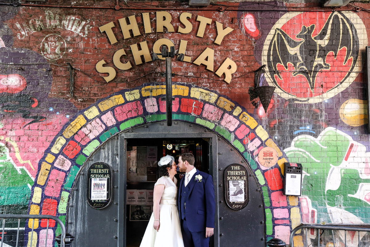 Alternative Wedding Photography Manchester Thirsty Scholar