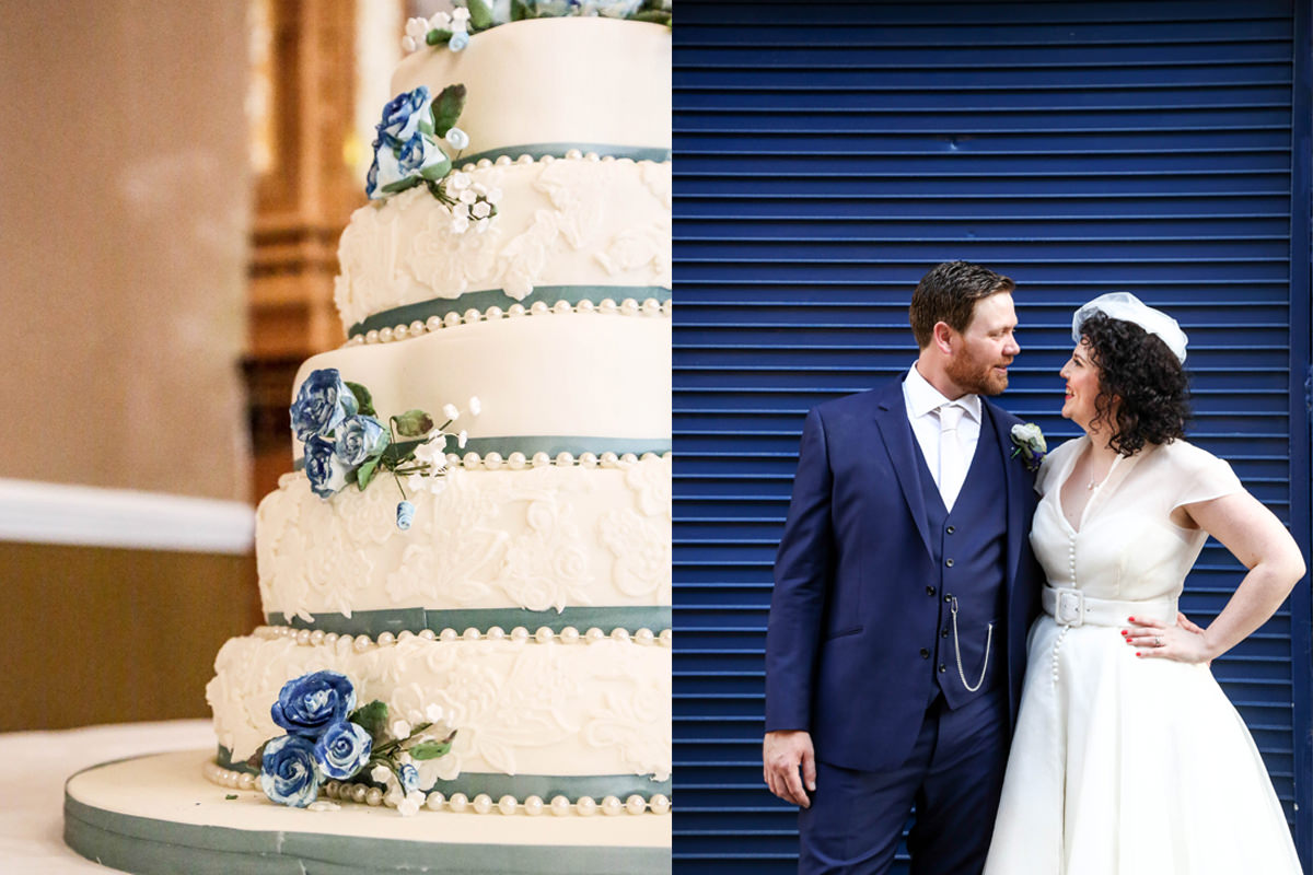 Cake Wedding Photographer Manchester