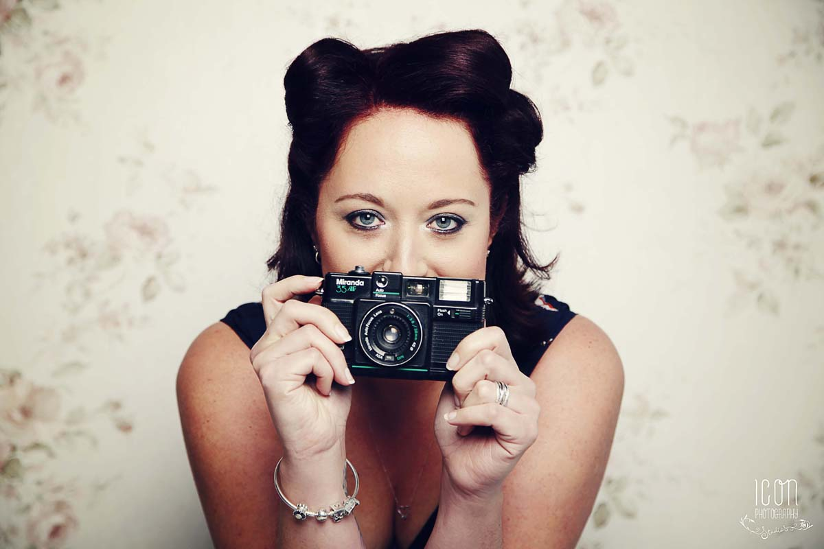 Stockport wedding photographer Hen Do Pin Up