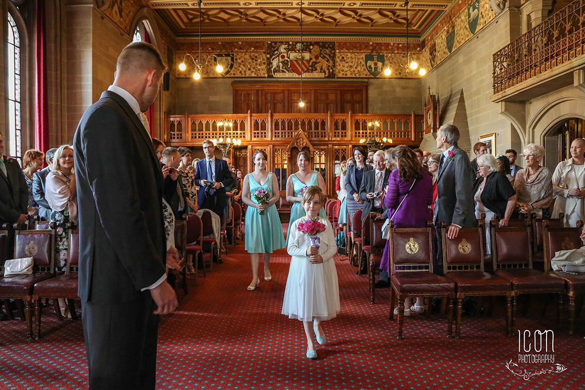 wedding photography manchester Town Hall