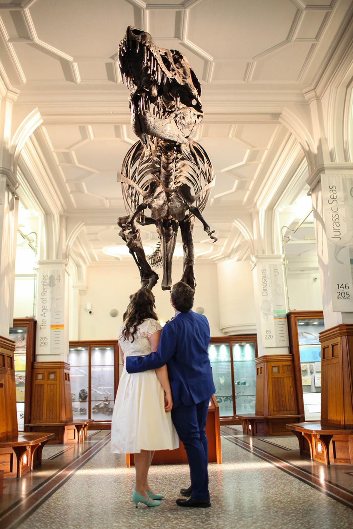 Manchester wedding photographers manchester museum