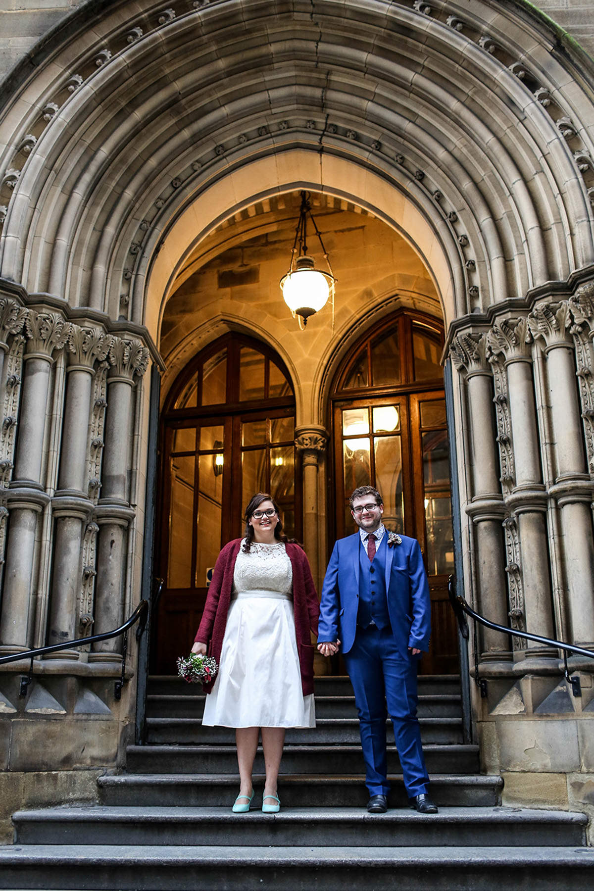 Manchester wedding photographers Manchester town hall