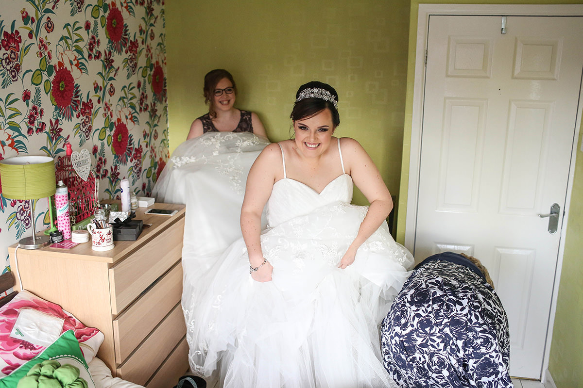 The Dress, Manchester and Cheshire Wedding Photographer, Cottons Hotel Wedding Photography