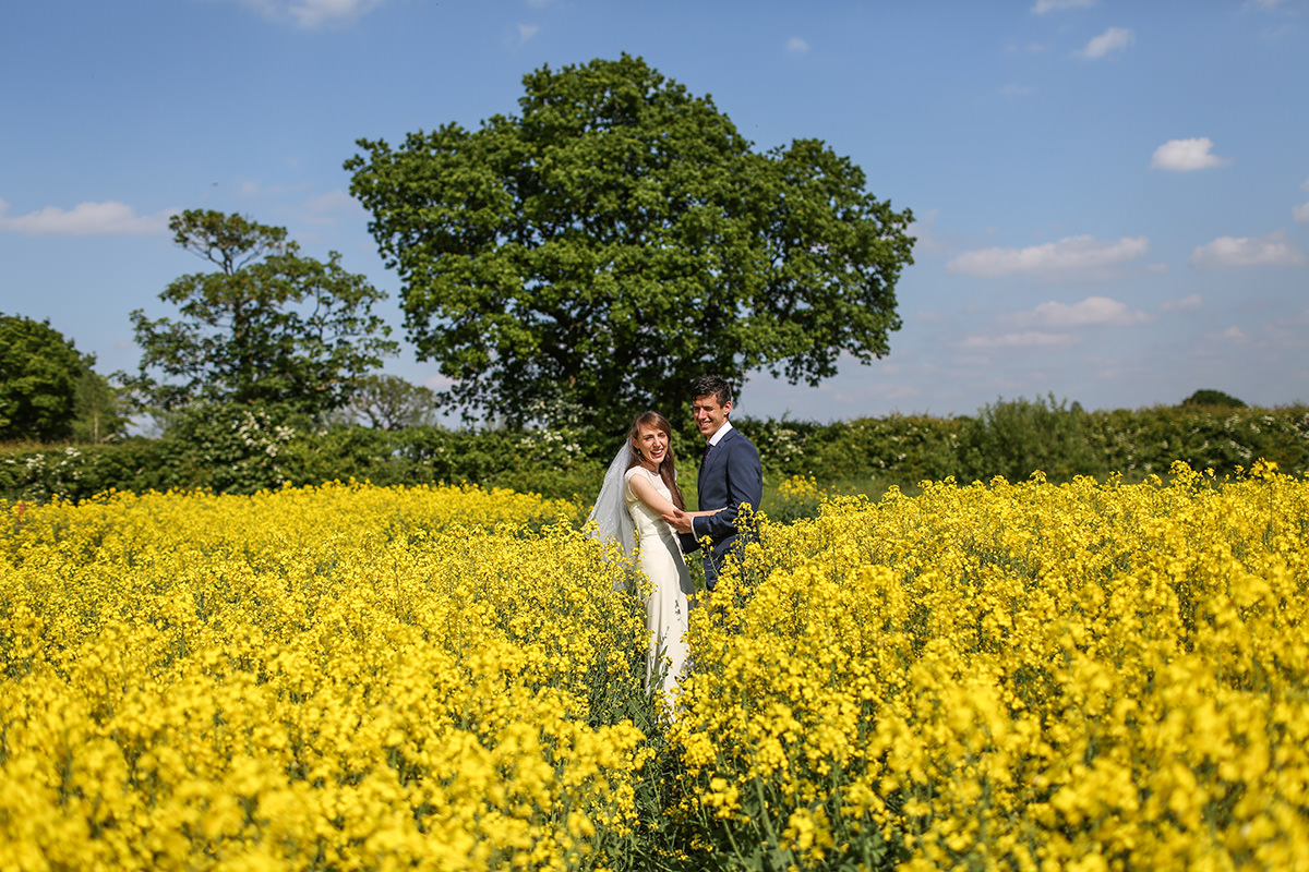 Bride and Groom Alternative Wedding Photography Stockport