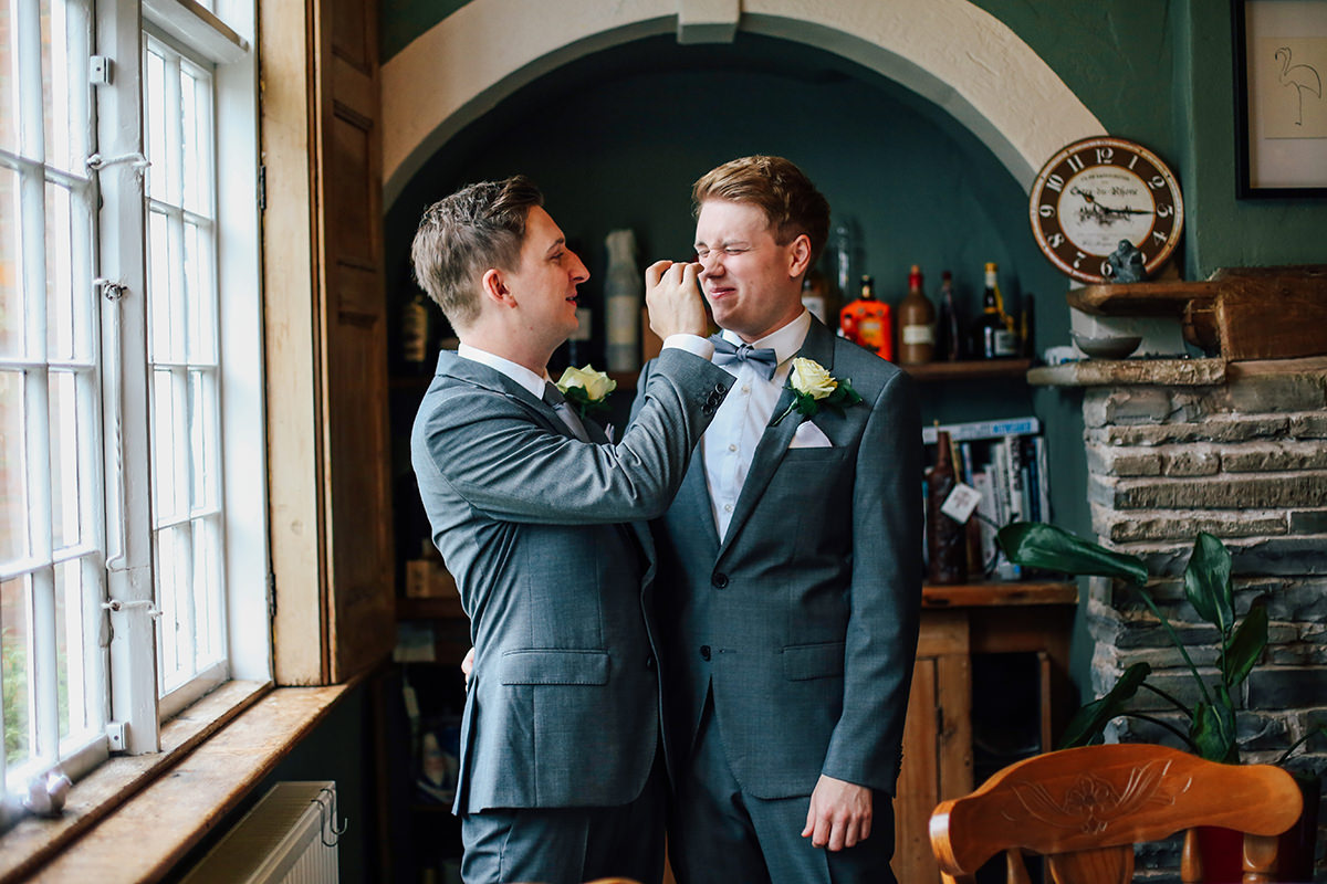 Candid Manchester and Stockport Wedding Photographer Leamington Spa Wedding Photography Civil Partnership