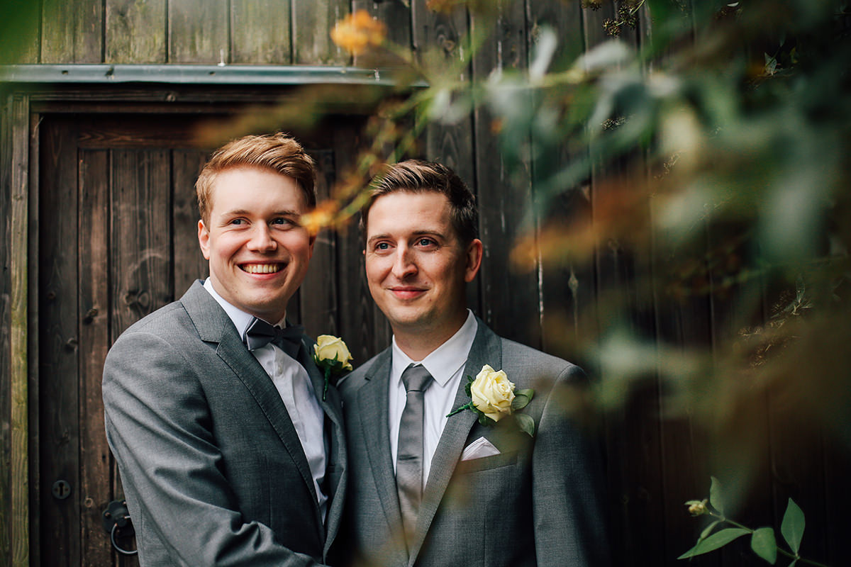 Beautiful and Creative Photography Gay Wedding Photography Cheshire and Manchester Wedding Photographer Leamington Spa Wedding Photography Civil Partnership