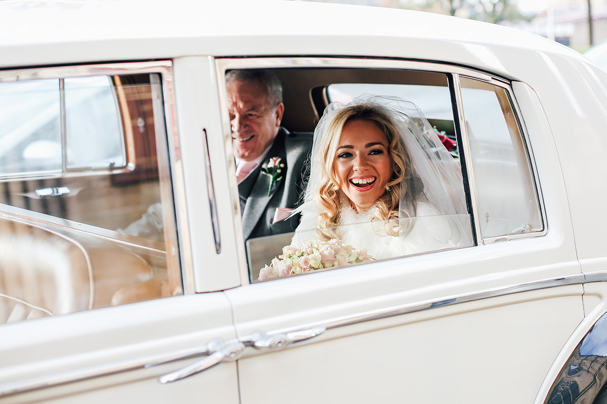 Creative and Relaxed Wedding Photography St Andrews Cathedral Glasgow