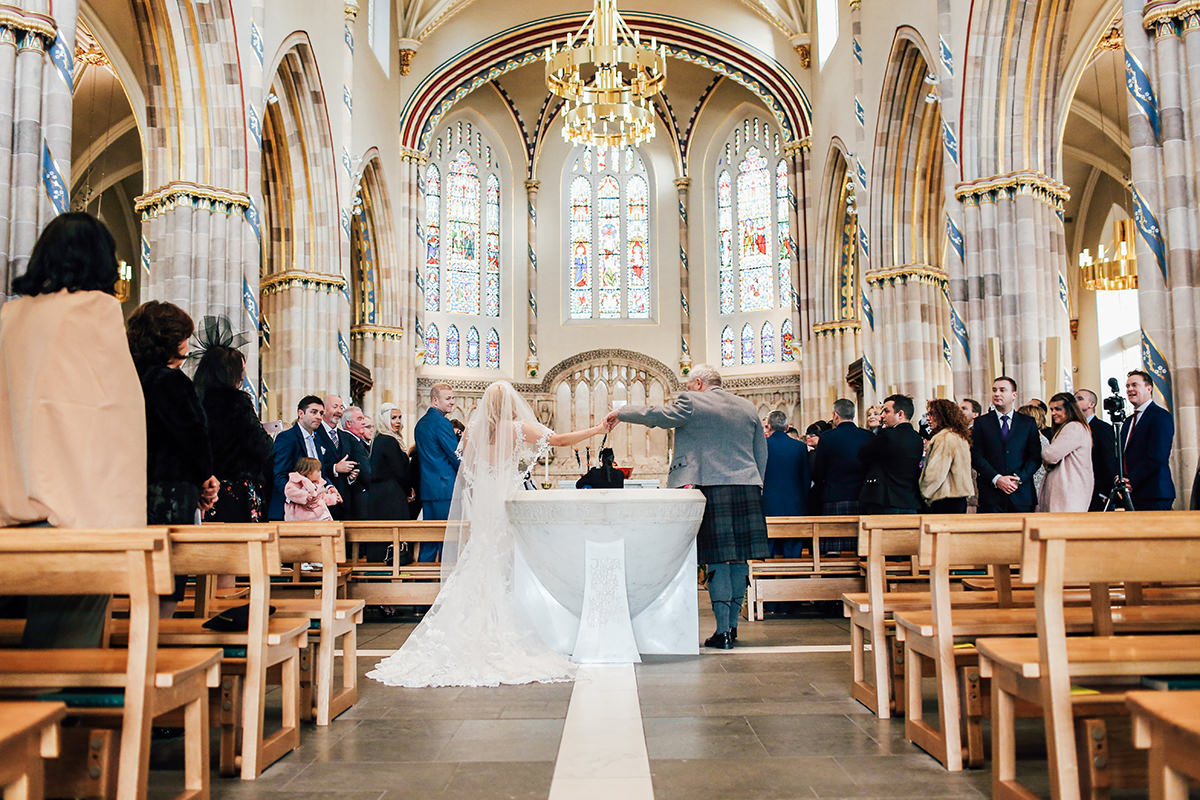 St Andrews Cathedral Wedding Photography Glasgow Wedding Photographer