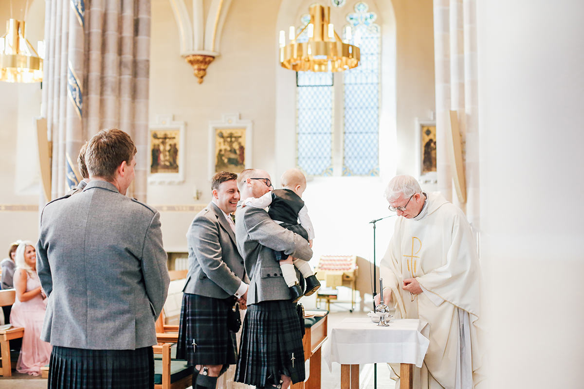 Scottish Wedding Photographer St Andrews Cathedral Wedding Photography Glasgow