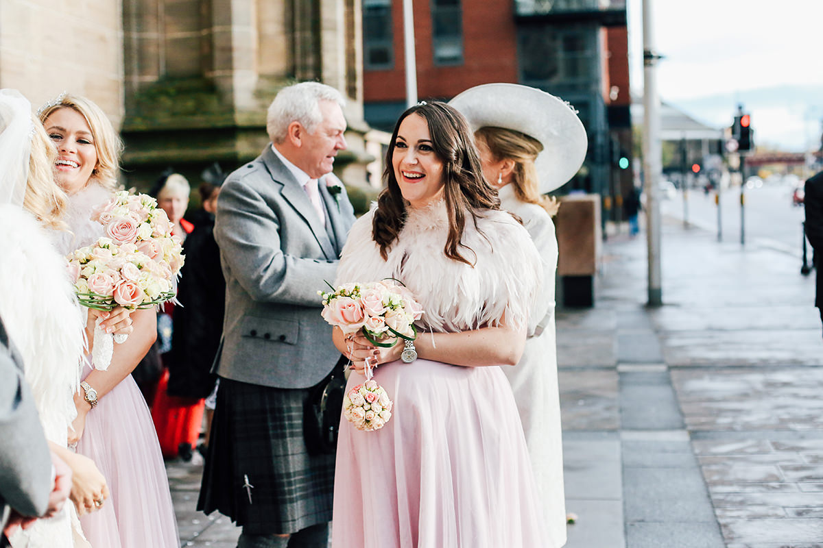 St Andrews Cathedral Wedding Photography Glasgow