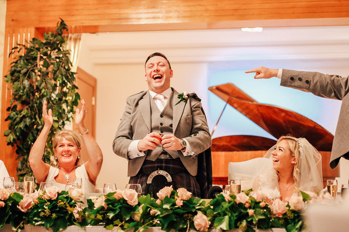 Wedding Photographer Glasgow Loch Green House Wedding Photography