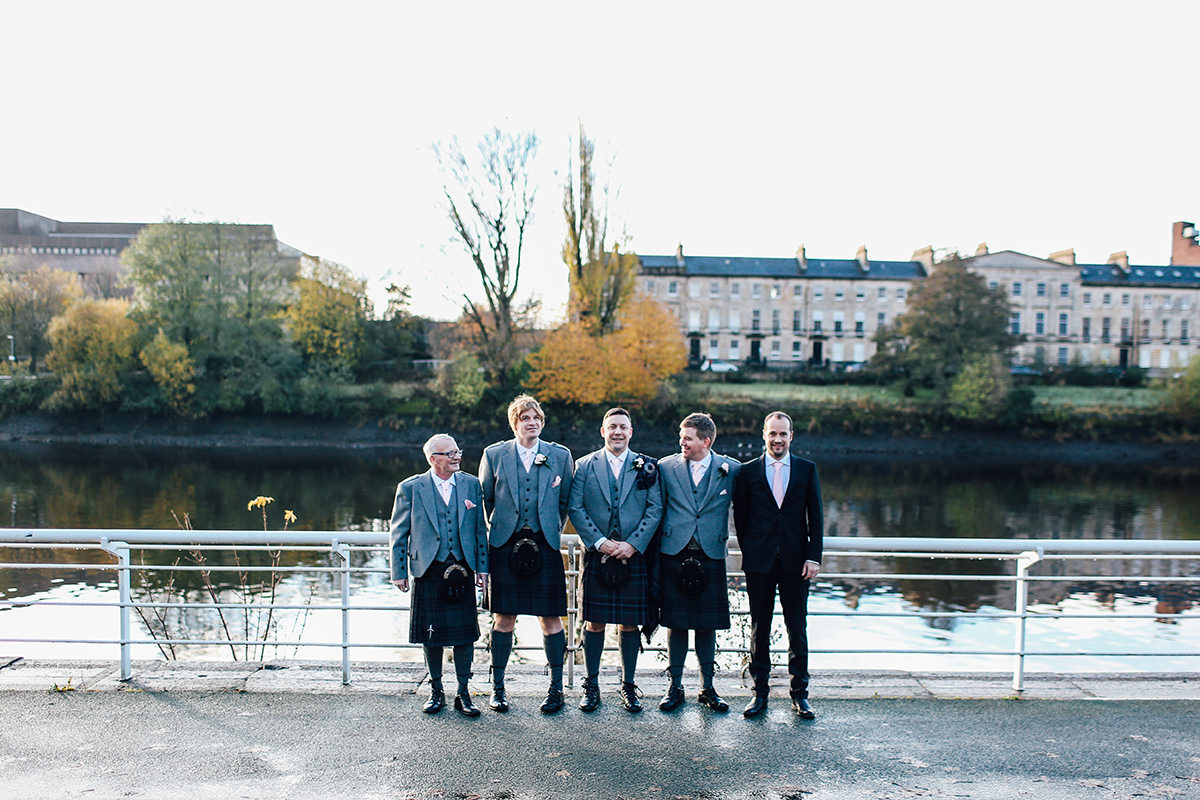 Creative Wedding Photography Glasgow Scottish Wedding Photographer St Andrews Cathedral
