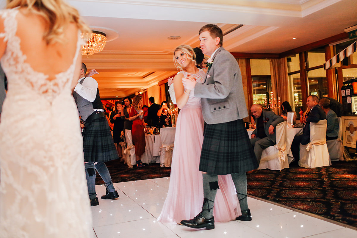 Wedding Photography Loch Green House Troon Scotland