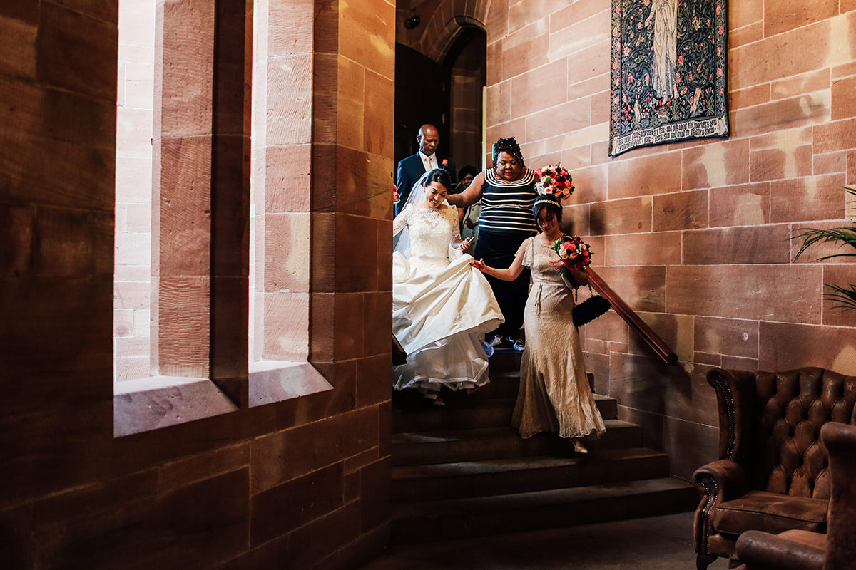 Cheshire and Manchester Wedding Photographer Peckforton Castle Wedding Photography