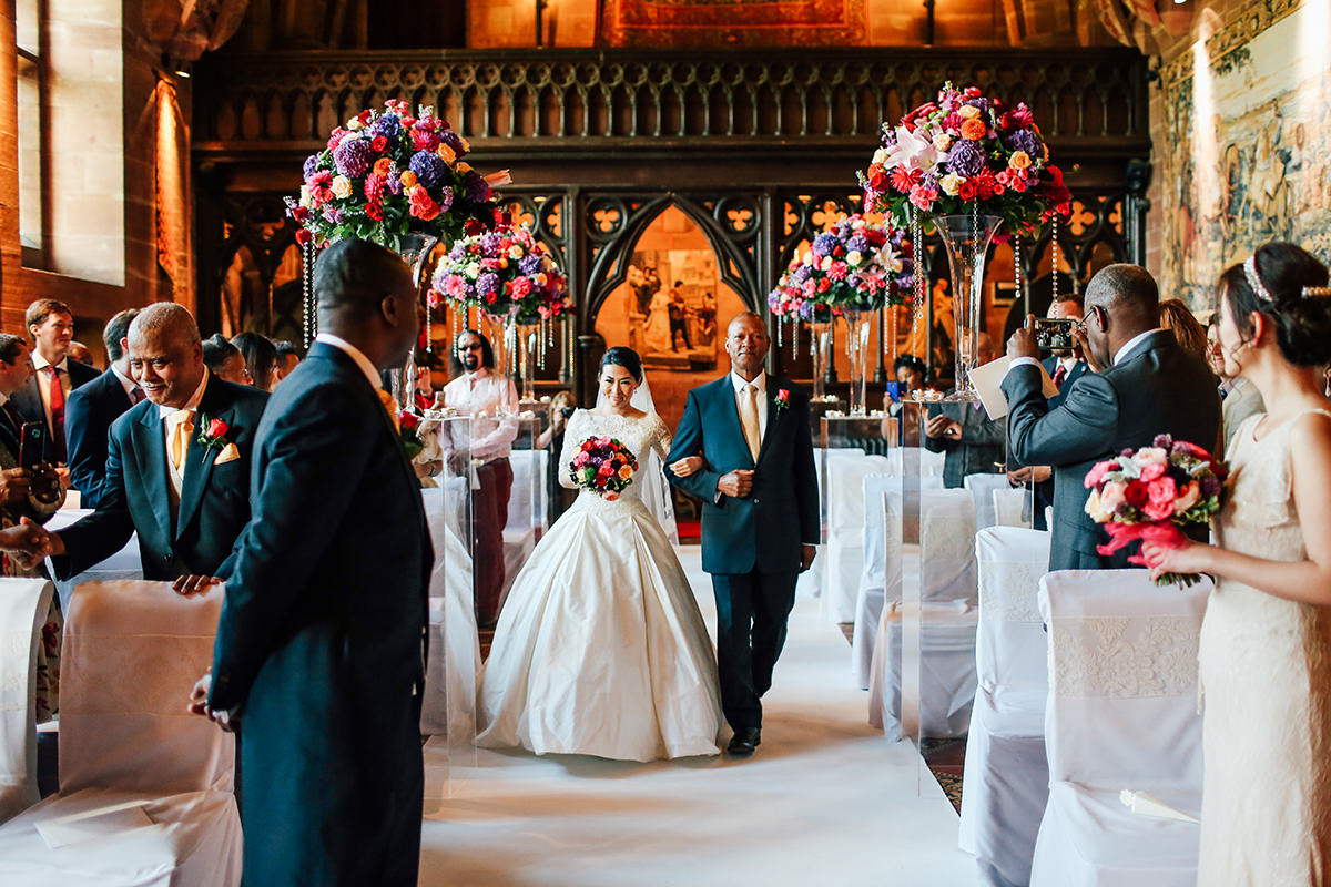 Peckforton Castle Wedding Photography Cheshire and Manchester Wedding Photographer
