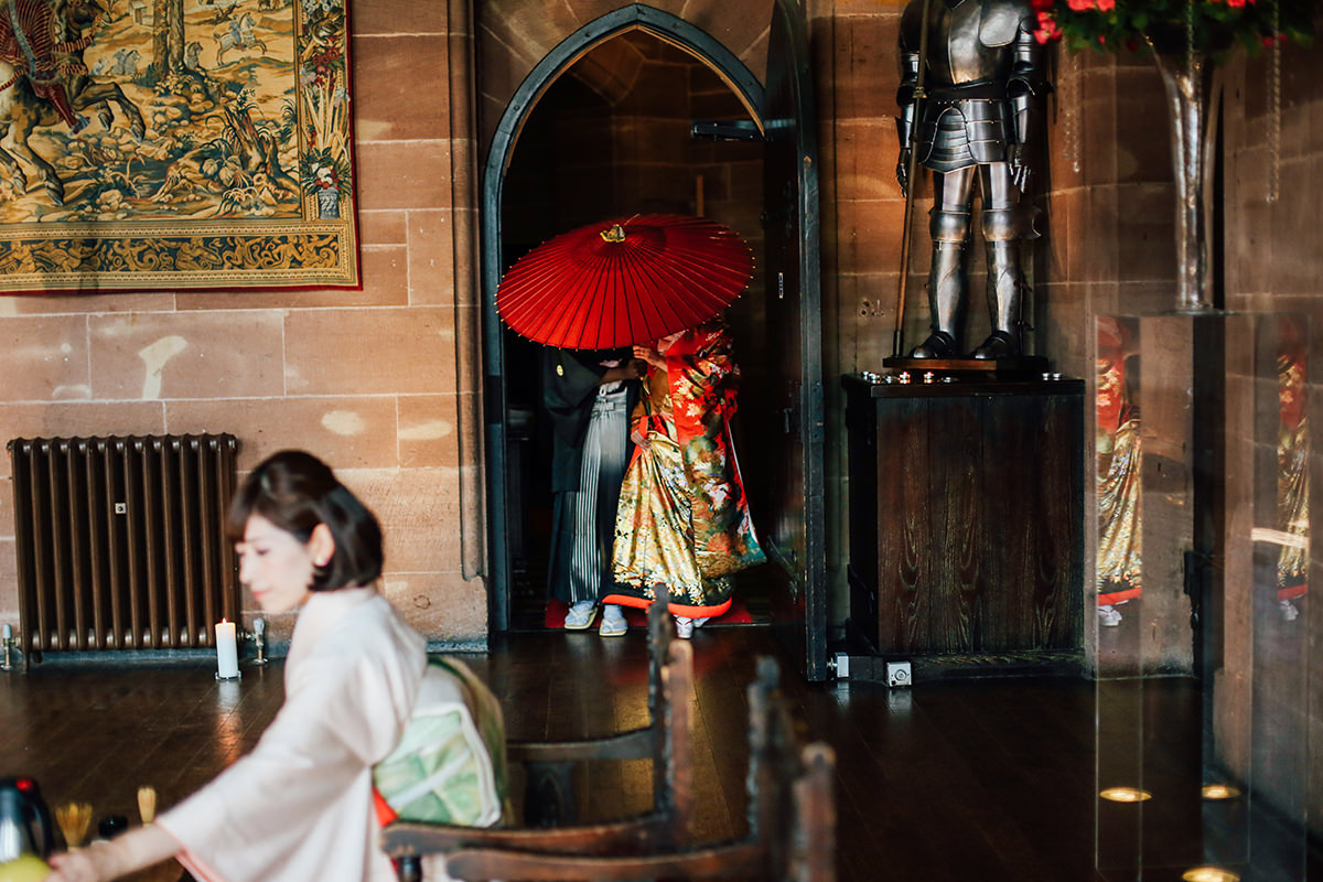Wedding Photography at Peckforton Castle  Manchester and Cheshire Wedding Photographer