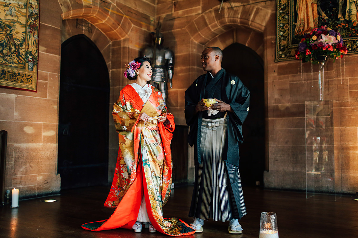 Creative Asian Wedding Photographer Manchester and Cheshire  Peckforton Castle Wedding Photography