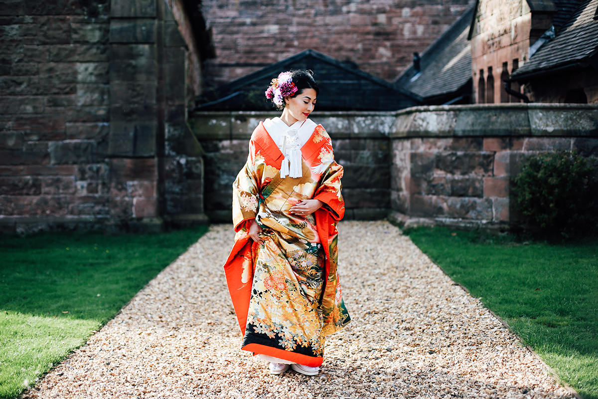 Asian Wedding Photographer Manchester and Cheshire  Peckforton Castle Wedding Photography