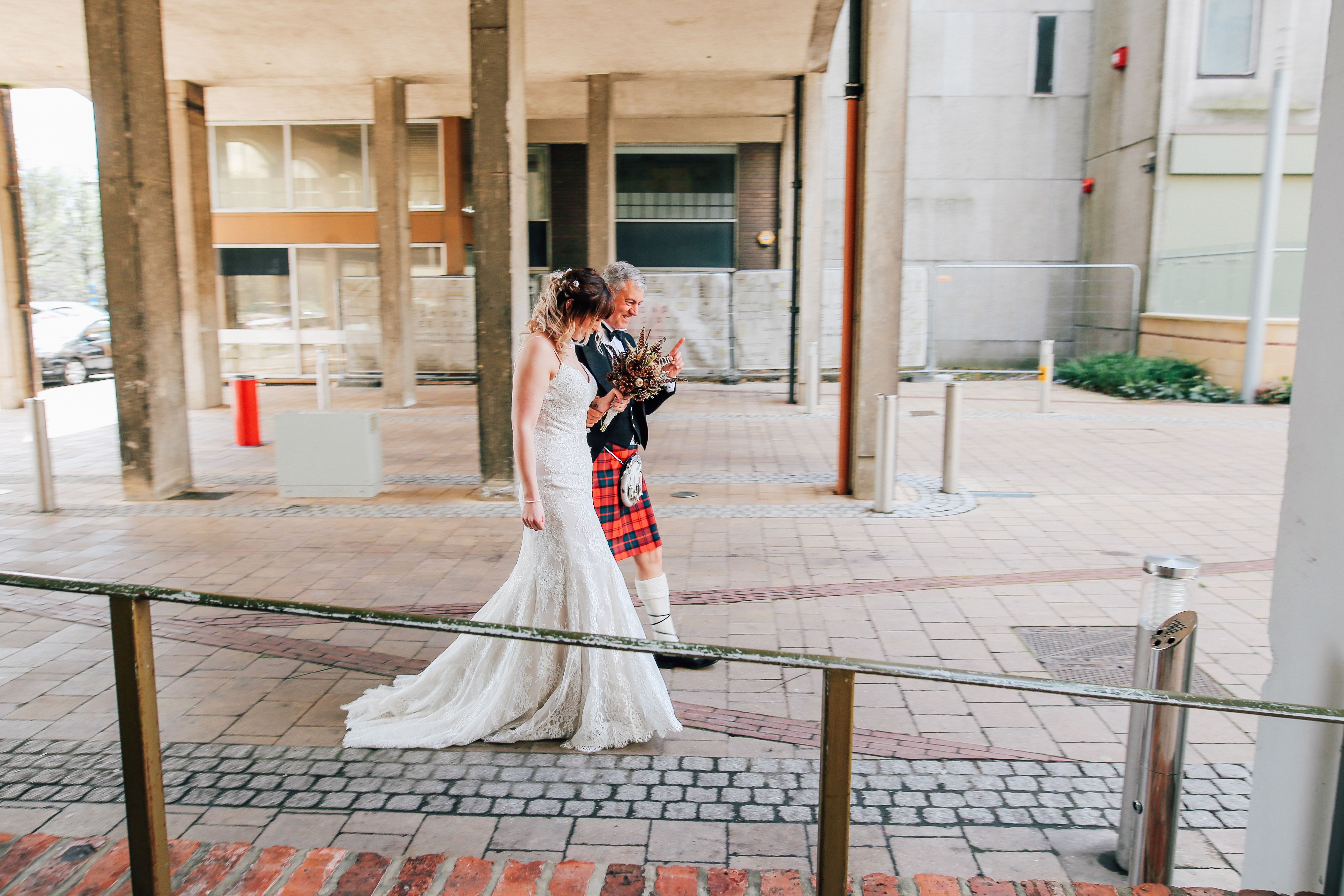 Brides Arrival Newcastle Wedding Photographer As You Like It