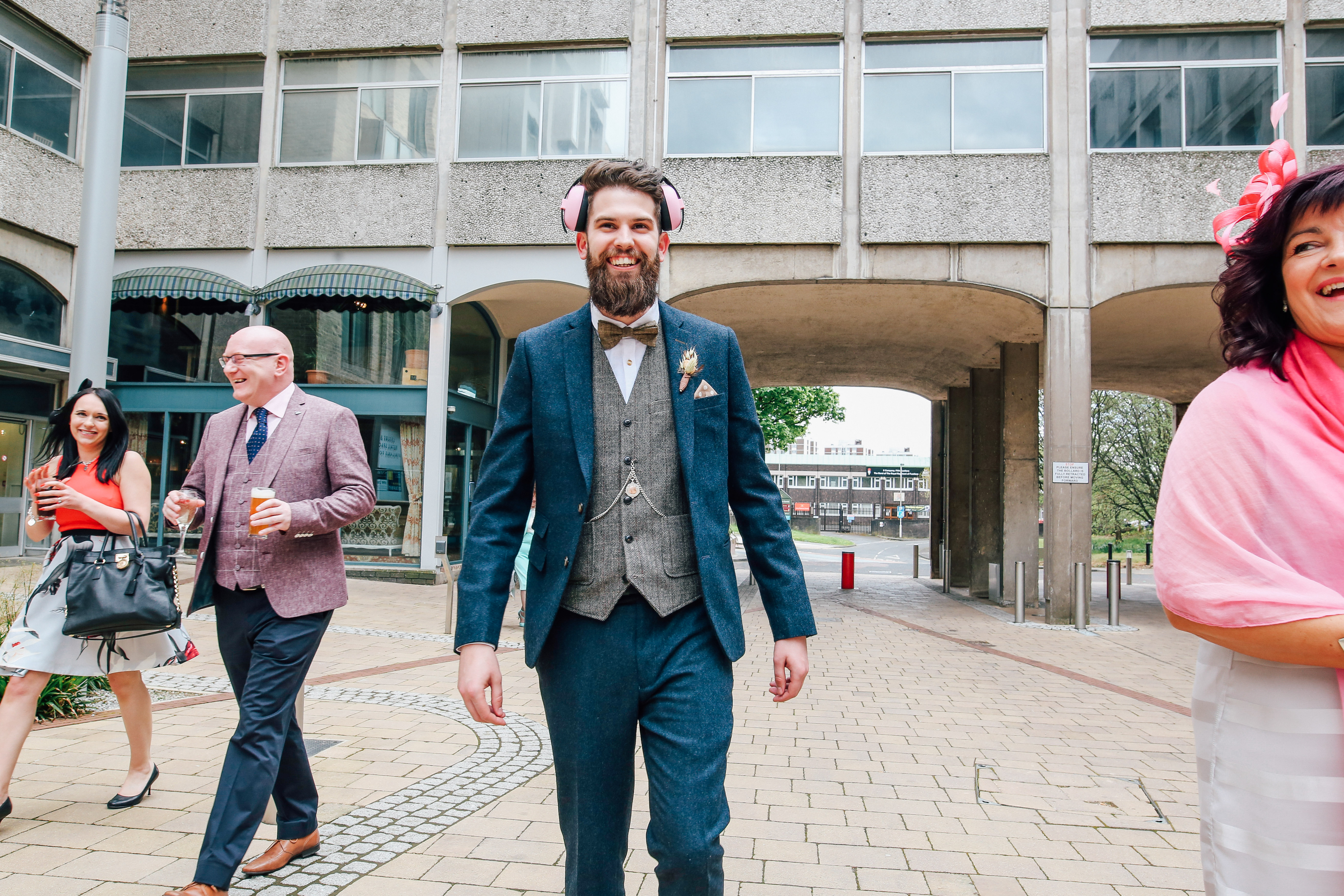 Groom Newcastle Wedding Photographer As You Like It