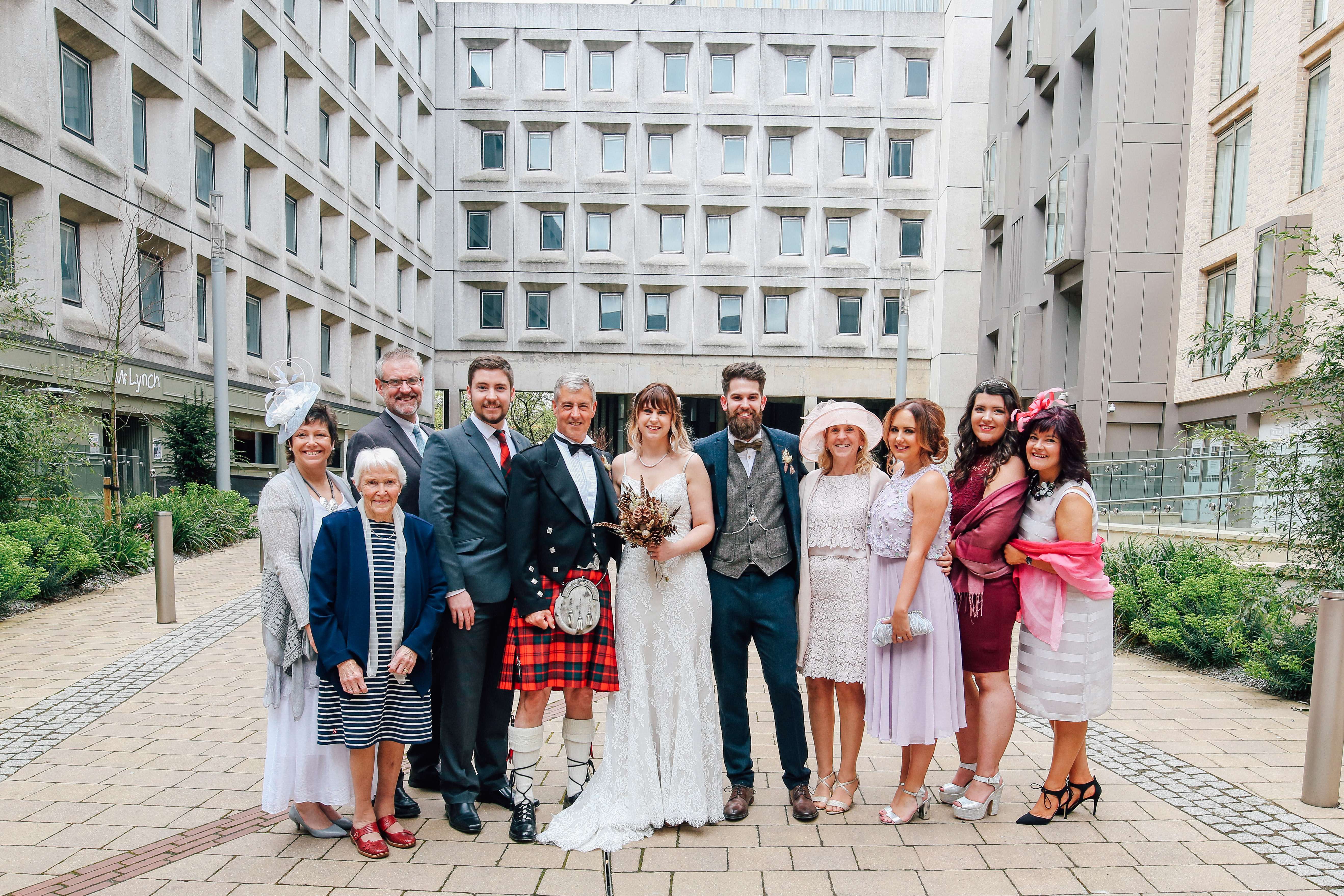 Wedding Party Portrait Photography Newcastle As You Like It