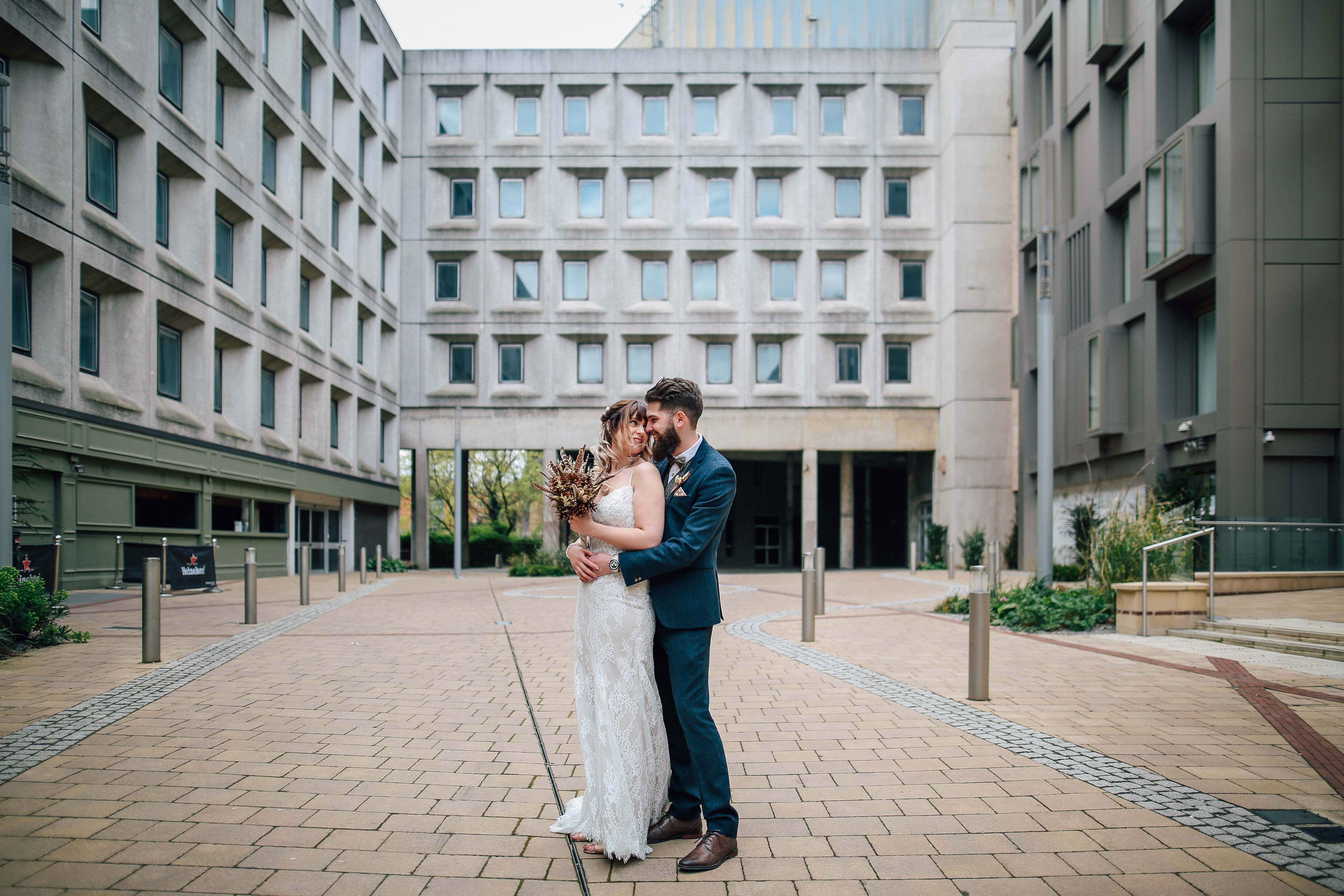 Bride and Groom Wedding Photographer Manchester