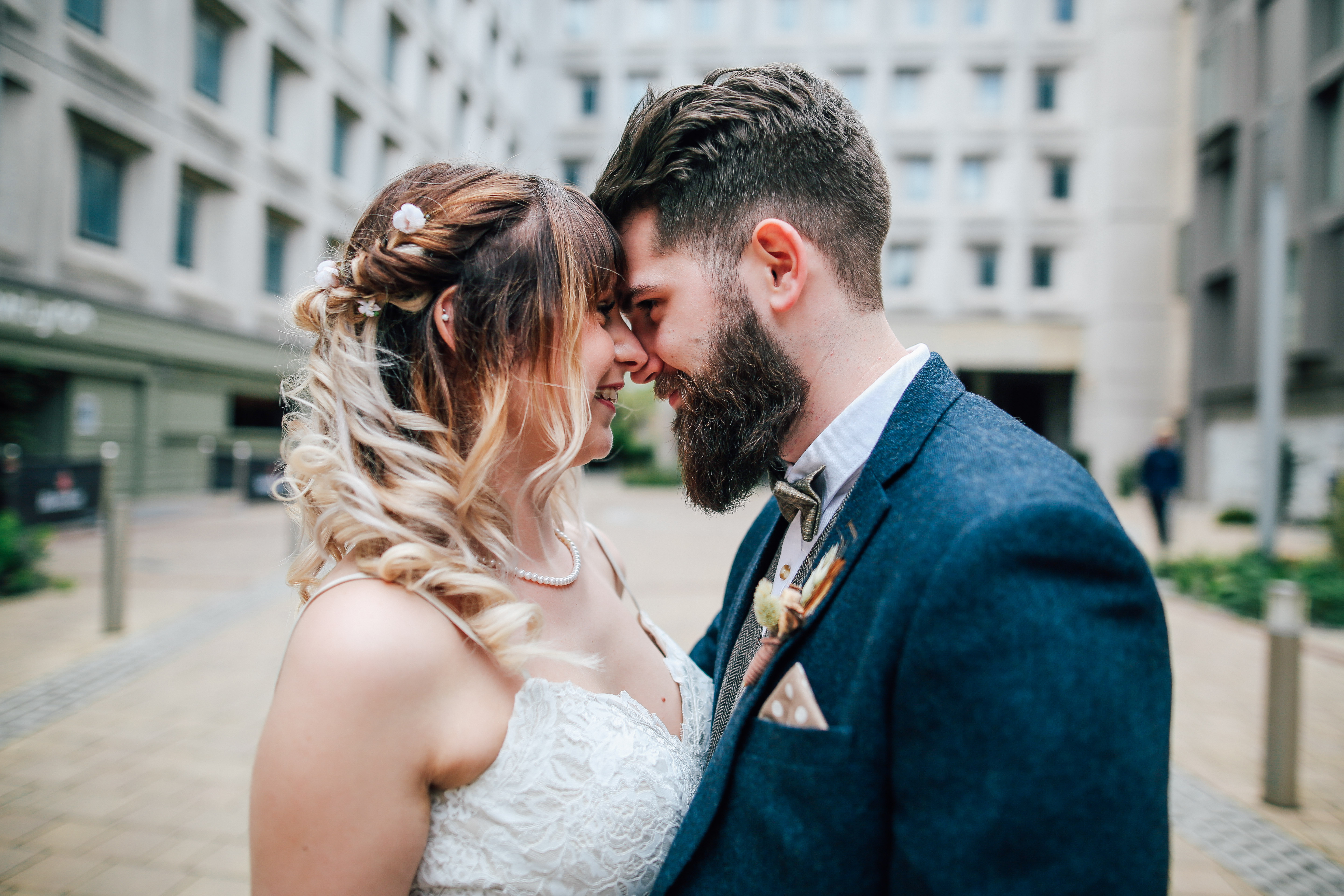 Bride and Groom Wedding Photography Manchester