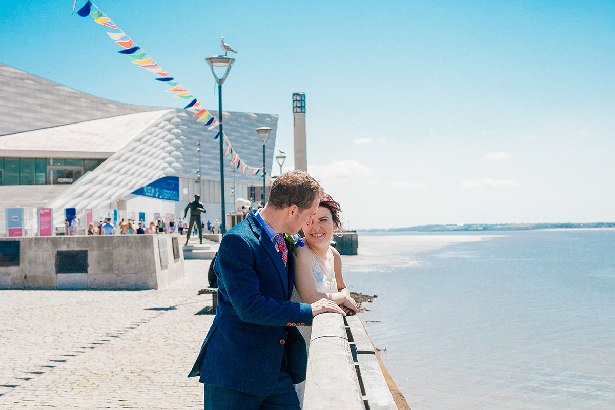 Unobtrusive Wedding Photographer Liverpool Docks Cheshire and Manchester