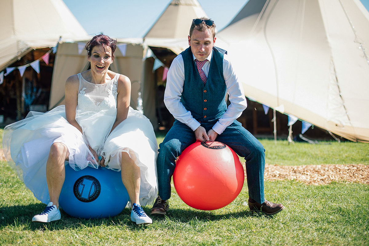 Fun Alternative Farm Wedding in Liverpool and Manchester