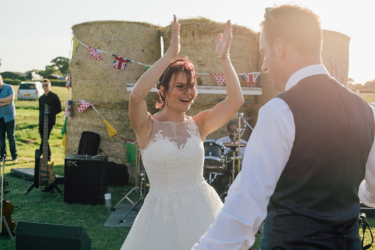 Fun Farm Wedding Liverpool