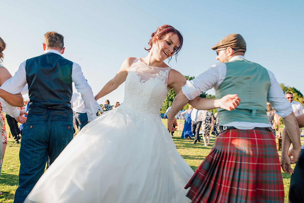 Ceilidh dance band Alternative Wedding Liverpool