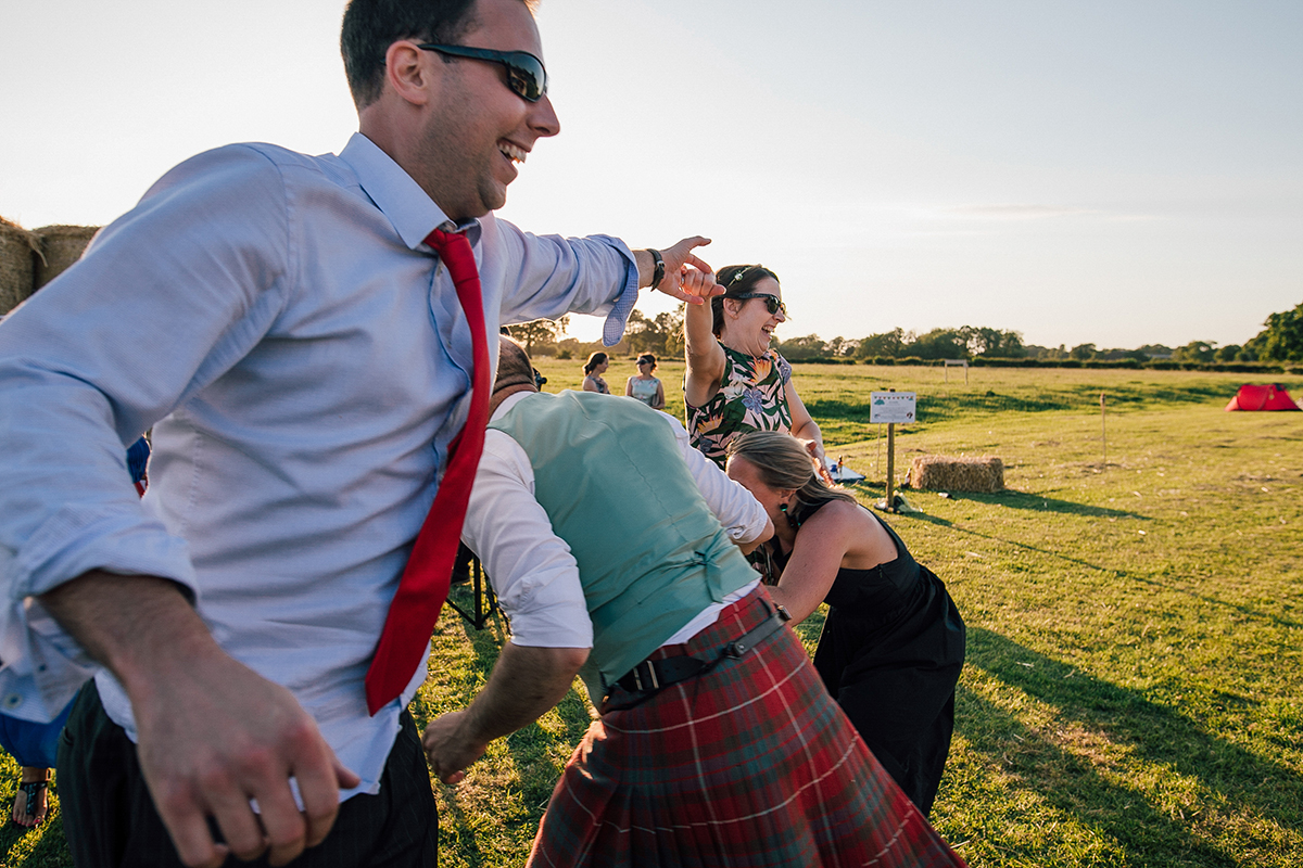 Ceilidh Dance Farm Wedding Liverpool
