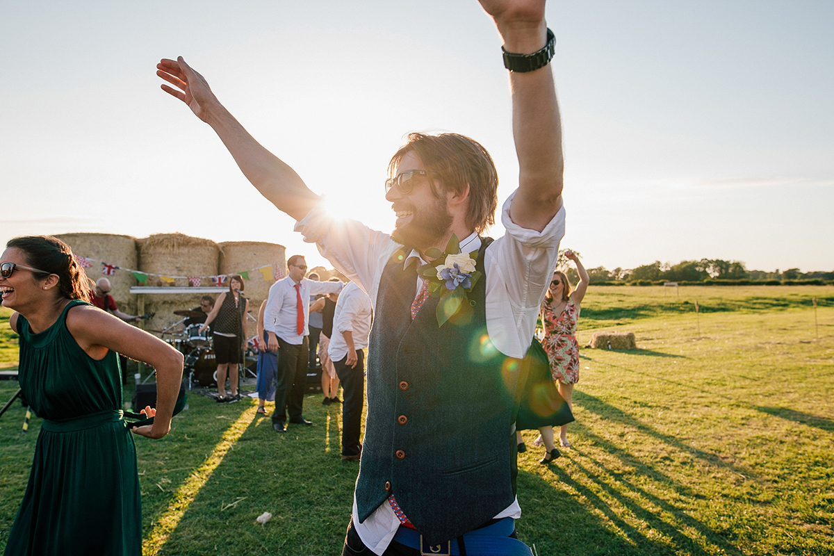 Sunset Dance Farm Wedding Liverpool