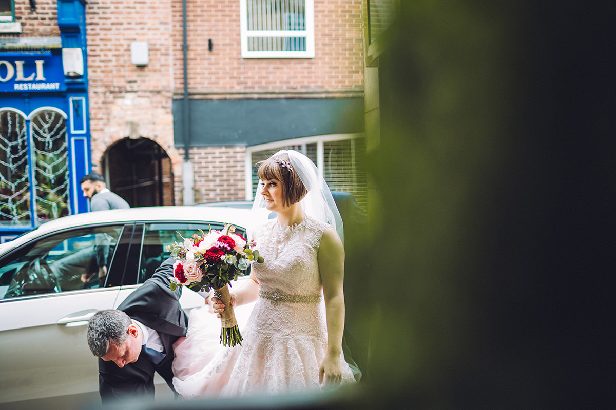 Unobtrusive Wedding Photography Cheshire