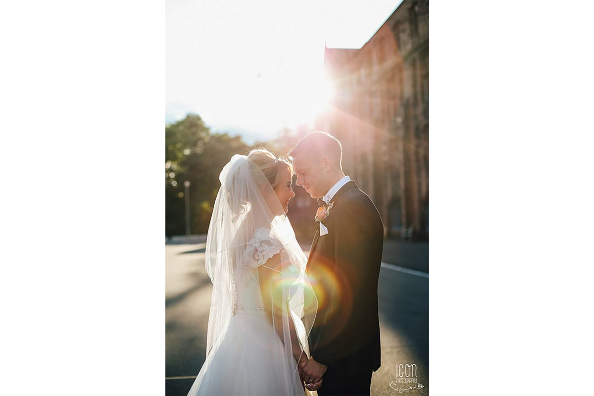 Sunset Manchester Wedding Photography