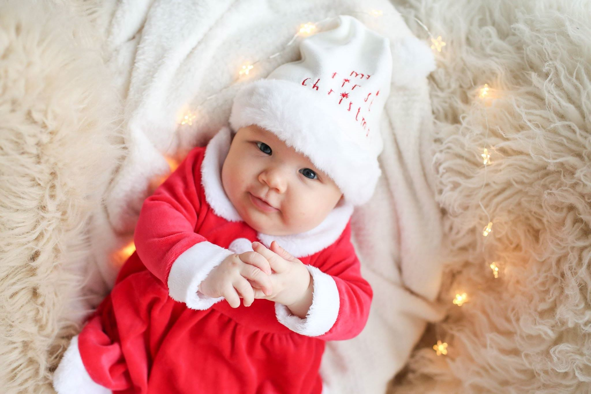 Baby Christmas Photo Shoot Manchester