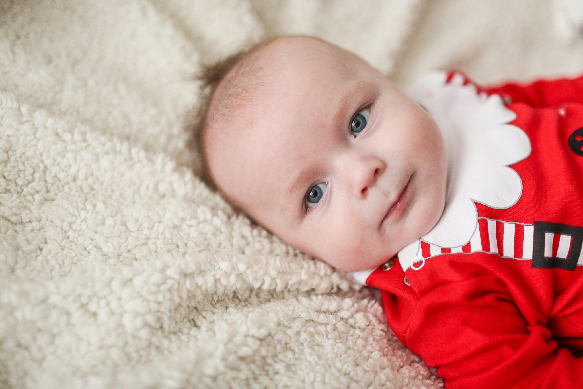Baby Christmas Photoshoot Stockport