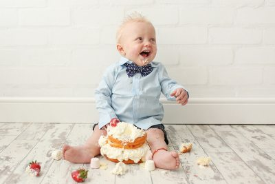 Cake Smash Photographer Cheshire