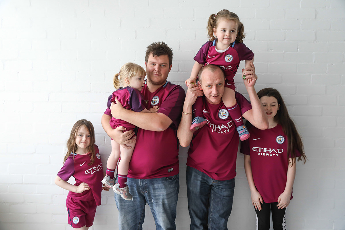 football family portrait Manchester near me