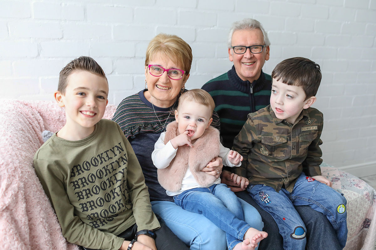 grandparent portrait photography stockport